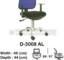 Kursi Sekretaris & Staff Indachi D-3008 AL