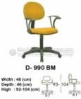 Kursi Sekretaris & Staff Indachi D-990 BM