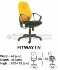 Kursi Sekretaris & Staff Indachi Fitway I N