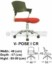 Kursi Sekretaris & Staff Indachi V-Pose I CR