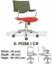 Kursi Sekretaris & Staff Indachi X-Pose I CR