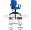 Kursi Sekretaris Chairman SC 1208