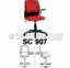 Kursi Sekretaris Chairman SC 907