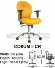 Kursi Sekretaris & Staff Indachi Corum II CR