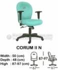 Kursi Sekretaris & Staff Indachi Corum II N