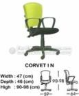 Kursi Sekretaris & Staff Indachi Corvet I N
