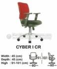 Kursi Sekretaris & Staff Indachi Cyber I CR